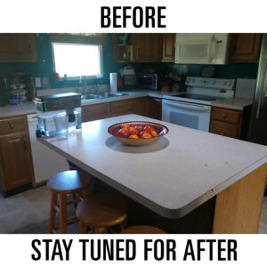 before countertops image